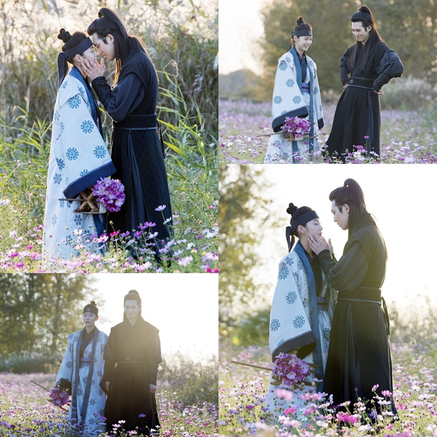"""First kiss scene in drama series """"My Only Love Song"""" 