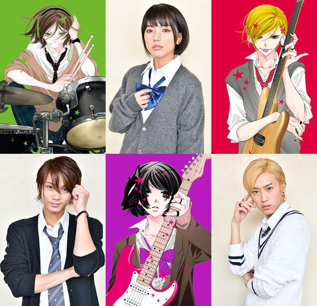 erina mano hayato isomura and yosuke sugino cast in live