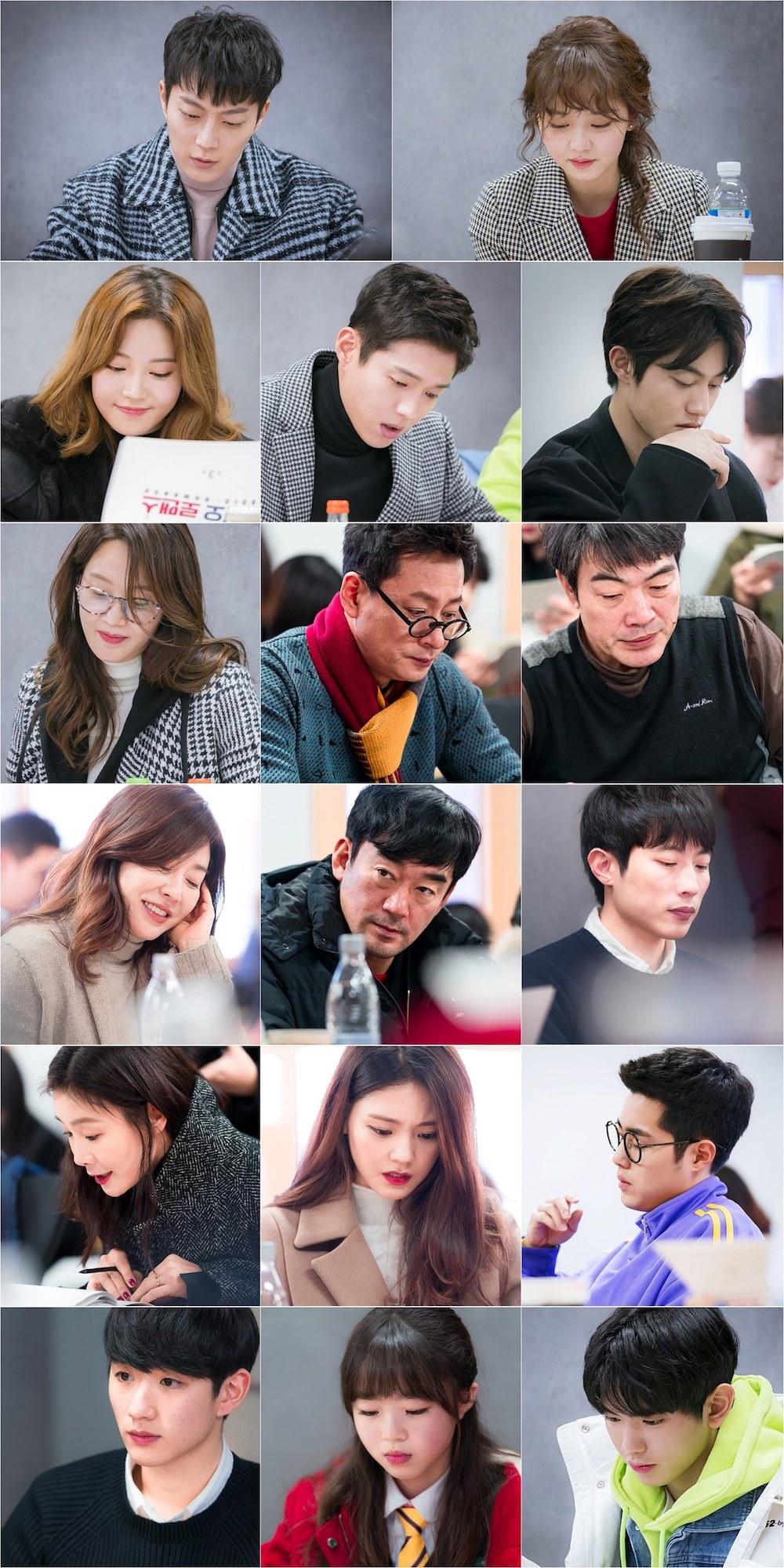 first script reading for kbs2 drama series �radio romance