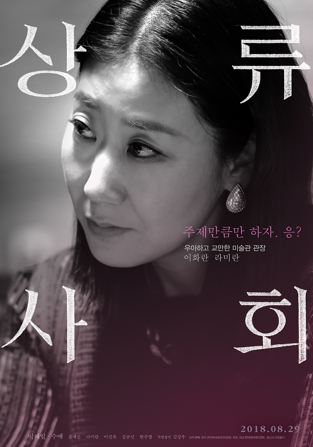 """8 character posters for movie """"High Society""""   AsianWiki Blog"""